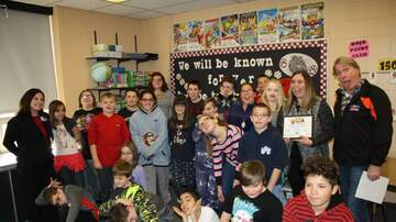 Photos - November Toft's Teacher of the Month
