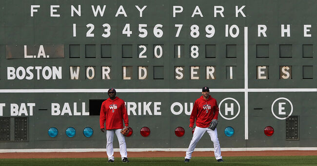 boston red sox workout