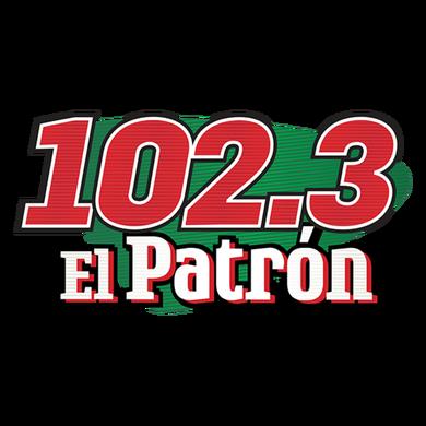 102.3 El Patron logo