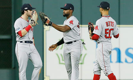 - Red Sox Convincingly Beating Teams Away From Fenway In Playoffs
