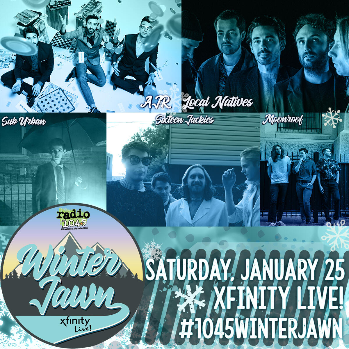 Image result for Radio 104.5's Winter Jawn 2020