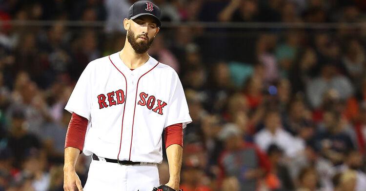 Rick Porcello Boston Red Sox MLB baseball pitcher