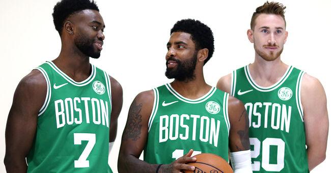 boston celtics nba basketball jaylen brown kyrie irving gordon hayward