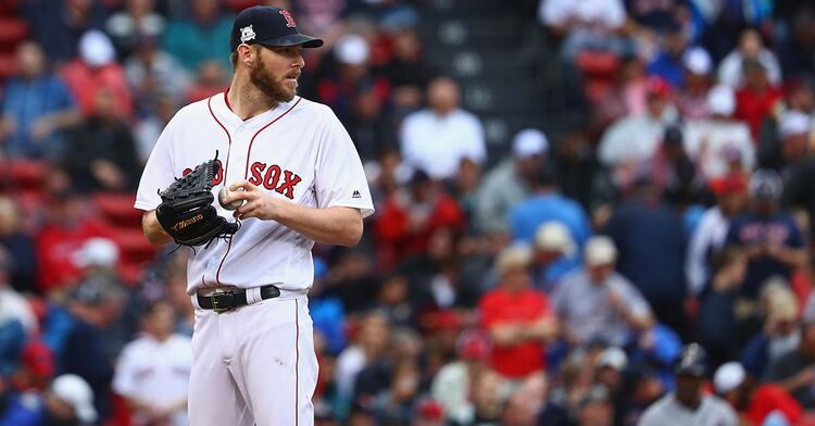 chris sale red sox boston fenway park