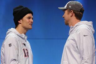 Nick Foles Not Waiting For Congratulatory Handshake From Tom Brady