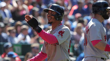 Sports - Mookie Betts Wins Gold Glove Fourth Year In A Row