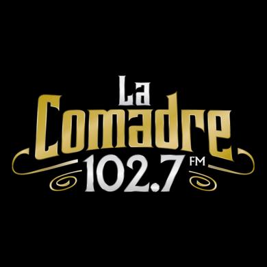 La Comadre 102.7 logo