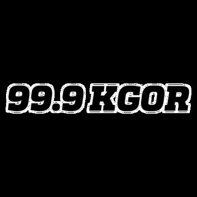 99.9 KGOR logo