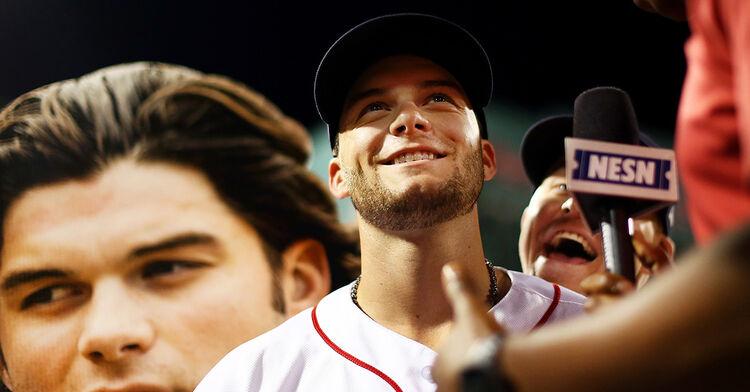 andrew benintendi boston red sox mlb baseball