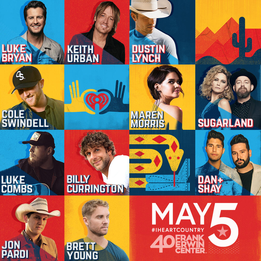 Lineup for 2018 iHeartCountry Festival by AT&T