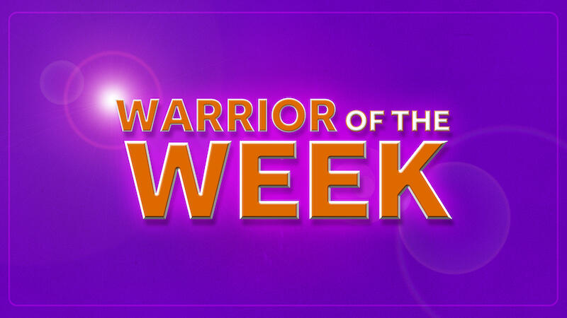 Warrior of the Week