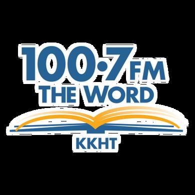 100.7 FM The Word logo