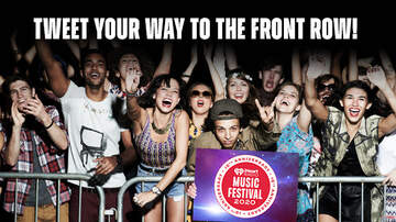 image for Tweet Your Way To The Front Row At The 2020 iHeartRadio Music Festival