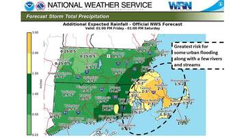 None - Flooding Up And Down Coast, Power Outages As Nor'easter Hits