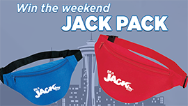 Contest Rules - Weekend JACK PACK Text-To-Win 3.9 – 3.10