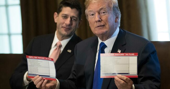 paul ryan donald trump gop republican tax plan bill