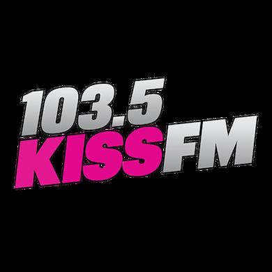 103.5 KISS FM logo