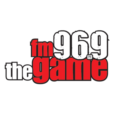 96.9 The Game logo