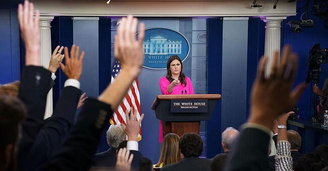 white house press briefing secretary sarah huckabee sanders
