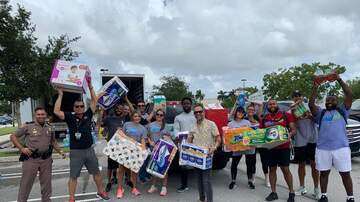 Photos - iHeartBahamas Relief Effort At Palm Beach Outlets