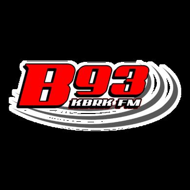 B93.7FM logo