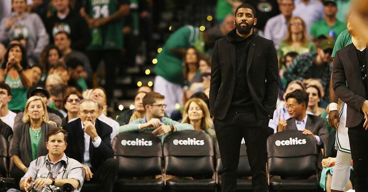 kyrie irving boston celtics nba basketball
