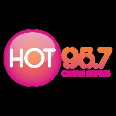 Hot 95.7 Cedar Rapids logo