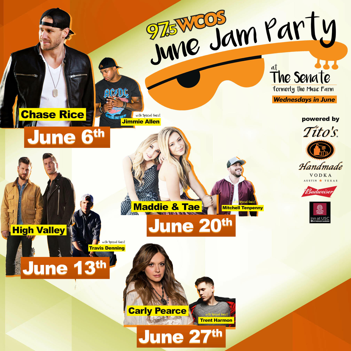 June Jam Party 2018 Lineup