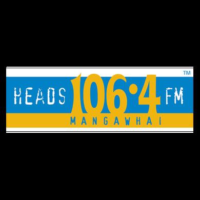 Heads 106.4FM Mangawhai logo