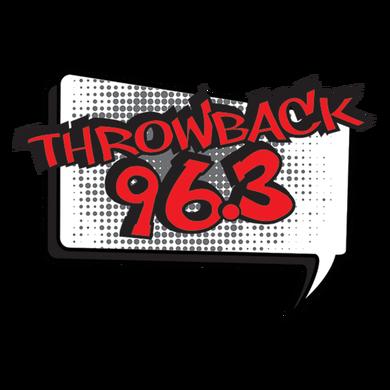 Throwback 96.3 logo
