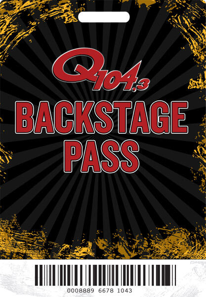 Q104.3 Backstage Pass is an interactive Zoom session with some of the biggest rock legends of all time!