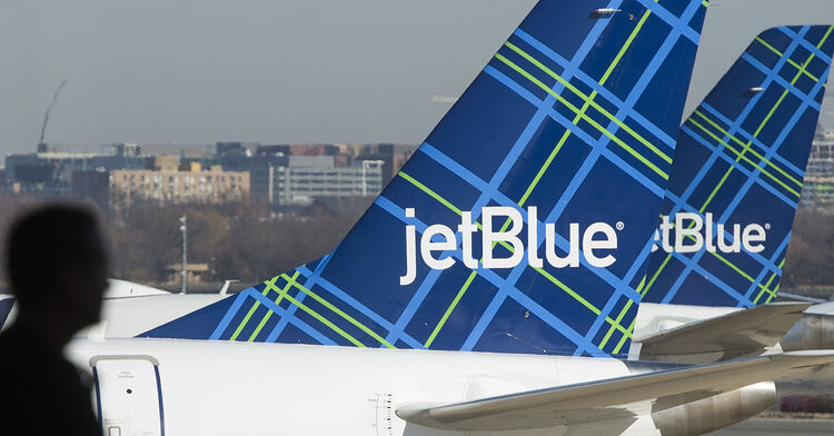 jetblue jet blue airlines air plane airplane