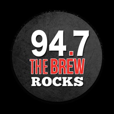 94.7 The Brew logo