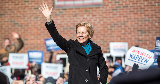 Elizabeth Warren Trump
