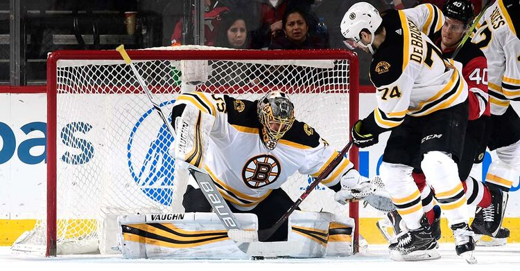 anton khudobin boston bruins goalie goaltender nhl hockey
