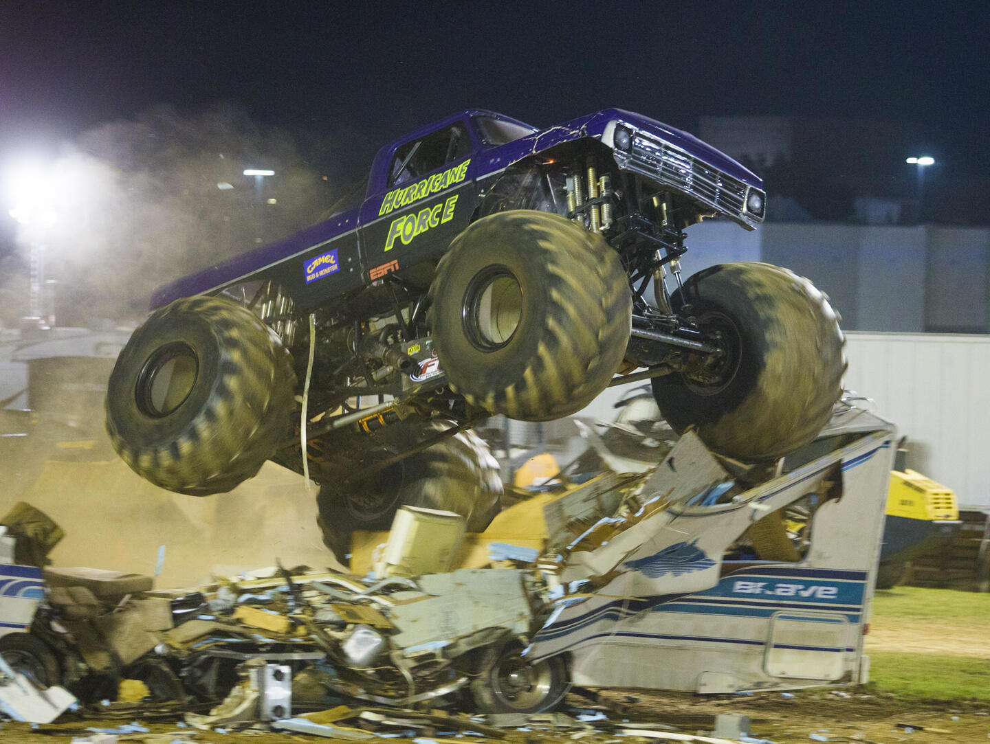 PHOTOS: Demolition Derby and Monster Truck Madness at MoCo Fair