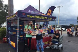 Wave 92.7 at the Luke Bryan Concert