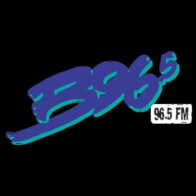 B96.5 logo