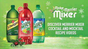 image for Make a Merrier Mixer with Sierra Mist and Schweppes this Holiday Season!