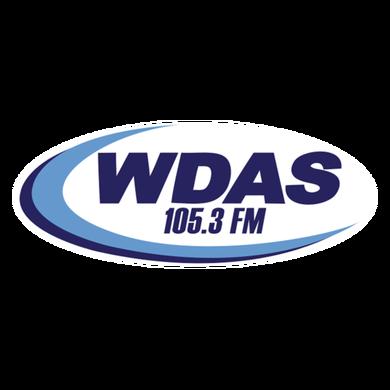 105.3 WDAS FM logo