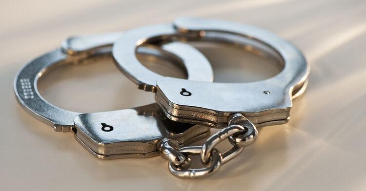 cuffs handcuffs arrest police