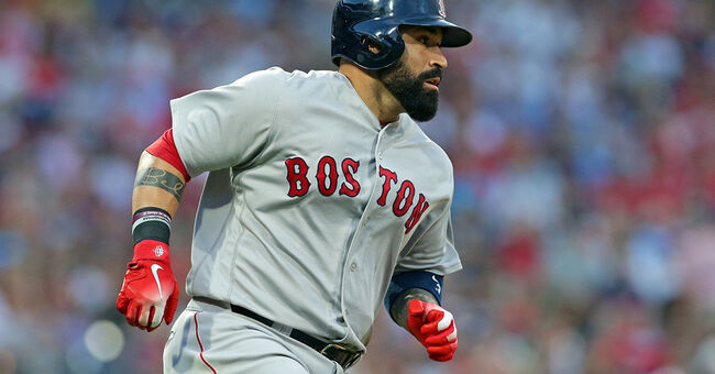 sandy leon mlb baseball boston red sox