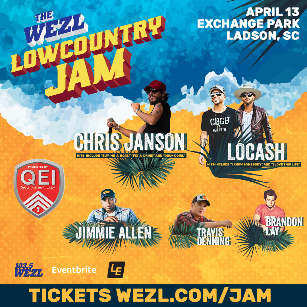 Lineup for 2019 Lowcountry Jam