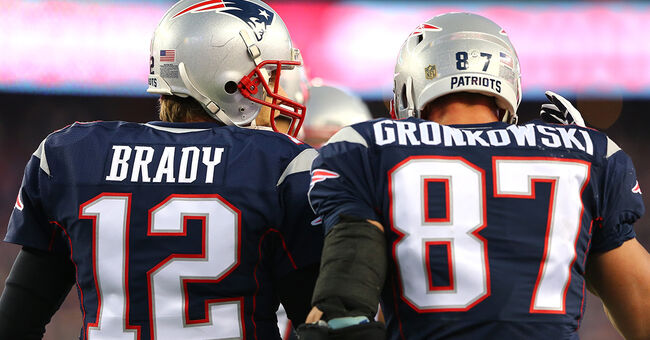 tom brady rob gronkowski nfl new england patriots
