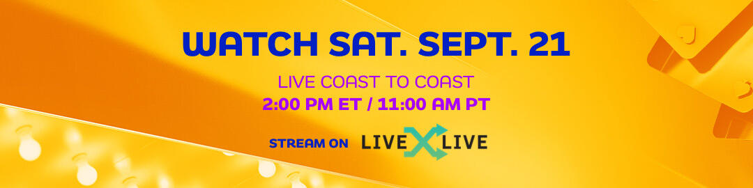 Watch Saturday, September 21 Live Coast To Coast 2pm ET / 11am PT on LiveXLive