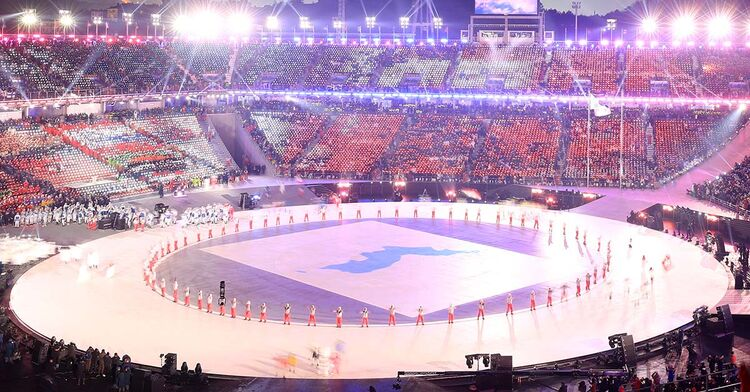unified korea olympics opening ceremony pyeongchang