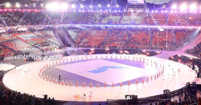 unified korea olympics opening ceremony pyeongchang