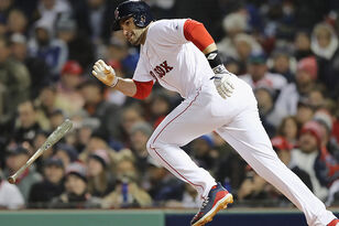 Will J.D. Martinez Play In Game 3 Of The World Series?