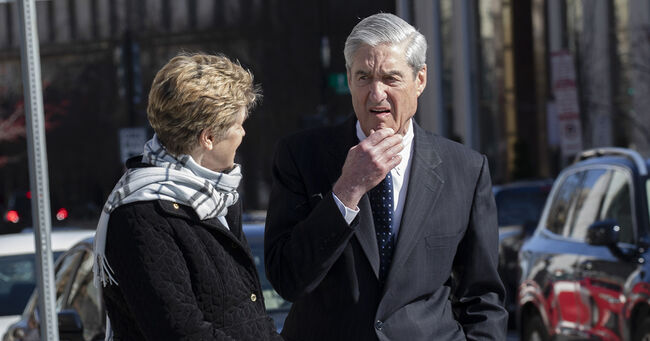 Robert Mueller Morning Before Report to be Released to Congress