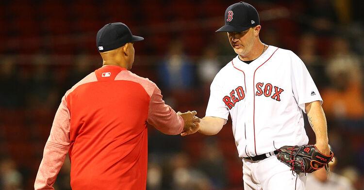 stephen wright alex cora mlb baseball boston red sox
